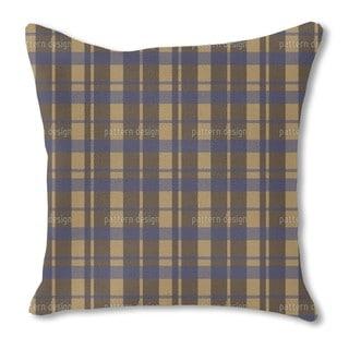 Carolina Brown Burlap Pillow Single Sided