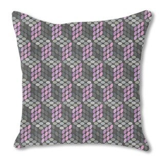 Magic Dots Burlap Pillow Single Sided