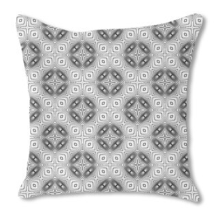 In the Kaleidoscope Burlap Pillow Single Sided