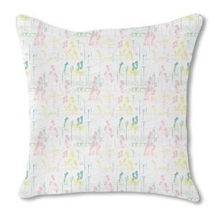 California Burlap Pillow Single Sided