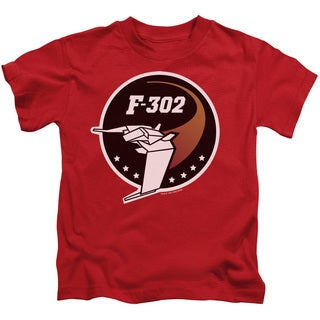 Sg1/F302 Logo Short Sleeve Juvenile Graphic T-Shirt in Red