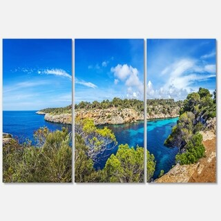 Famous Cove of Cala Pi Mallorca - Large Seascape Metal Wall At - 36Wx28H