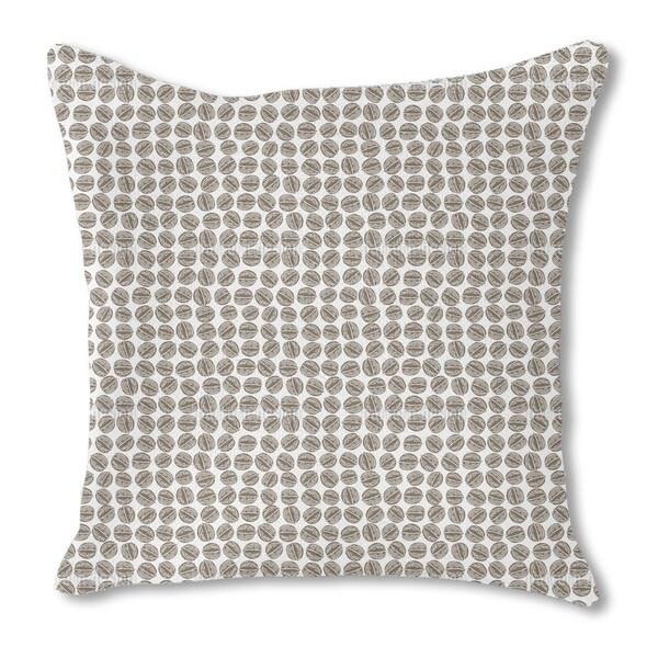 Walnut Burlap Pillow Double Sided