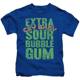 Dubble Bubble/Extra Sour Short Sleeve Juvenile Graphic T-Shirt in Royal