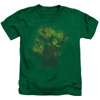 DCO/Spray Sketch League Short Sleeve Juvenile Graphic T-Shirt in Kelly Green