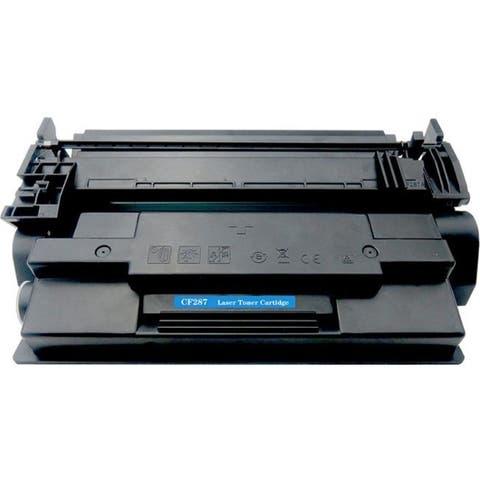 eReplacements CF287X-ER New Compatible Toner Cartridge - Alternative for HP (CF287X) - Black