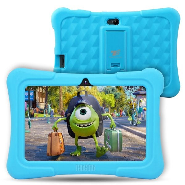 "Tablet Express Dragon Touch Y88X Plus Kids 7"" Tablet Disney Edition, Kidoz Pre-Installed, Android 5. 1, Blue"