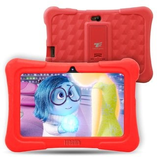 "Tablet Express Dragon Touch Y88X Plus Kids 7"" Tablet Disney Edition, Kidoz Pre-Installed, Android 5. 1, Red"