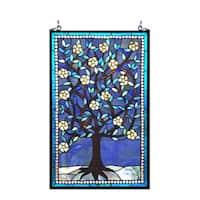 Chloe Tiffany Style Tree of Life Design Window Panel - M