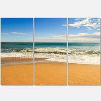 Designart - Daylight Relaxation - Landscape Photography Glossy Metal Wall Art