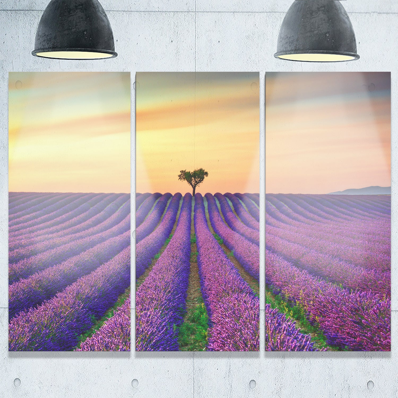 Fantastic Purple Flower Wall Art Gallery - The Wall Art Decorations ...