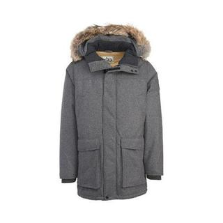 Men's Woolrich Patrol Down Parka Char Heather