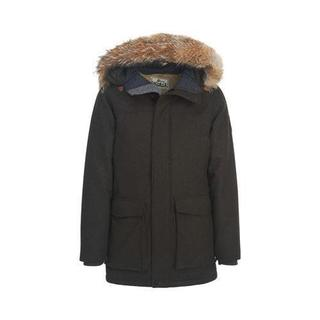 Men's Woolrich Patrol Down Parka Dark Loden Heather