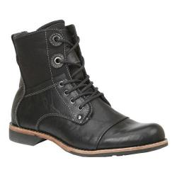 Men's GBX Griff Boot Black Wrinkle/Heavy Wash Canvas