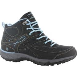 Women's Hi-Tec Equilibrio Bijou Mid I Boot Black/Forget Me Not Synthetic