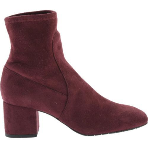 Women's Kenneth Cole New York Nikki Ankle Boot Wine Microfiber/Microsuede - Thumbnail 1