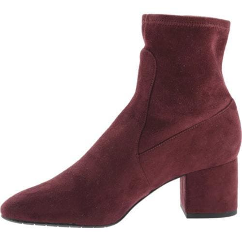 Women's Kenneth Cole New York Nikki Ankle Boot Wine Microfiber/Microsuede - Thumbnail 2