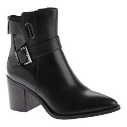 Women's Kenneth Cole New York Quincie Ankle Boot Black Leather
