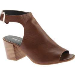 Women's Kenneth Cole New York Val Sandal Medium Brown Leather