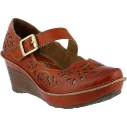 Women's L'Artiste by Spring Step Amrita Mary Jane Camel Leather