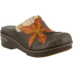 Women's L'Artiste by Spring Step Zaira Clog Gray Leather