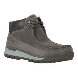 Men's Lugz Breech Wallaby Work Boot Charcoal/Dark Charcoal/Grey Thermabuck