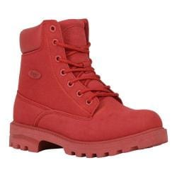 Women's Lugz Empire HI M Work Boot Candy Apple Durabrush