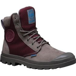Palladium Pampa Sport Cuff WPN Boot Moss Grey/Burgundy