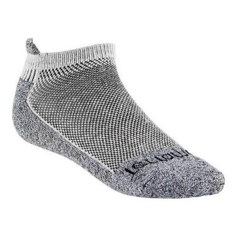Terramar Cool-Dry Pro Tab Ankle Socks (2 Pairs) White
