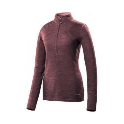 Women's Terramar 4.0 Thermawool 1/2 Zip Poppy Heather