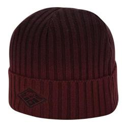 Men's A Kurtz Cotton Dip Dye Watchcap Dark Red
