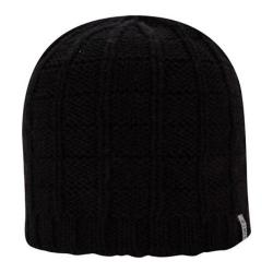 Men's A Kurtz Cotton Squares Beanie Black