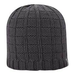 Men's A Kurtz Cotton Squares Beanie Charcoal