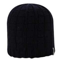Men's A Kurtz Cotton Squares Beanie Navy