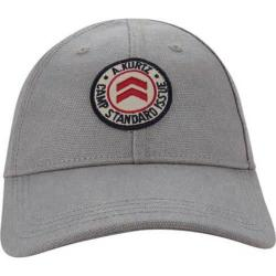 Men's A Kurtz Flat-Felled Baseball Cap Grey
