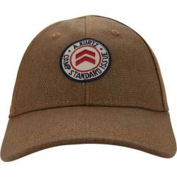Men's A Kurtz Flat-Felled Baseball Cap Tan