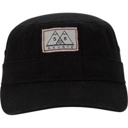 Men's A Kurtz Military Hat w/ Band Black