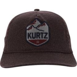 Men's A Kurtz Mountain Baseball Cap Dark Red