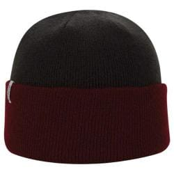 Men's A Kurtz Roll Up Beanie Dark Red