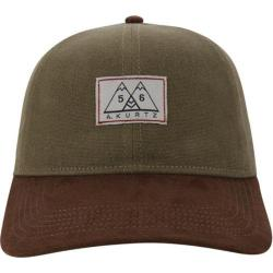 Men's A Kurtz Suede Visor Cap Military