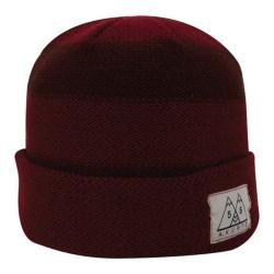 Men's A Kurtz Tic Stripe Watchcap Dark Red