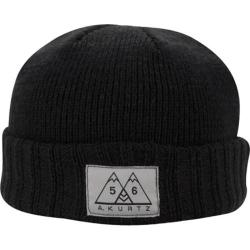 Men's A Kurtz Two Tone Short Beanie Black