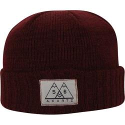 Men's A Kurtz Two Tone Short Beanie Dark Red