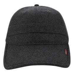 Men's A Kurtz Wool Baseball Cap Charcoal