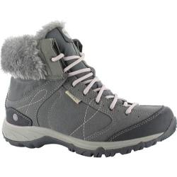 Women's Hi-Tec Equilibrio Bellini Snug 200 I Waterproof Boot Cool Grey/Violet Ice Suede