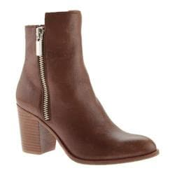 Women's Kenneth Cole New York Ingrid Ankle Boot Medium Brown Leather