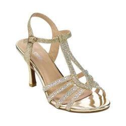 Women's L & C Claudia-93 Ankle Strap Sandal Gold