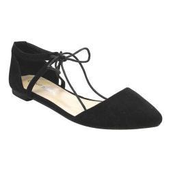 Women's L & C Cloe-31 Ballet Flat Black