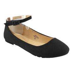 Women's L & C Deon-1 Ballet Flat Black