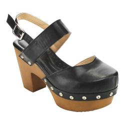 Women's L & C Fanny-2 Closed Toe Sandal Black
